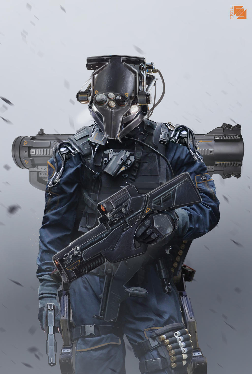 Soldier by FlorentLlamas on DeviantArt