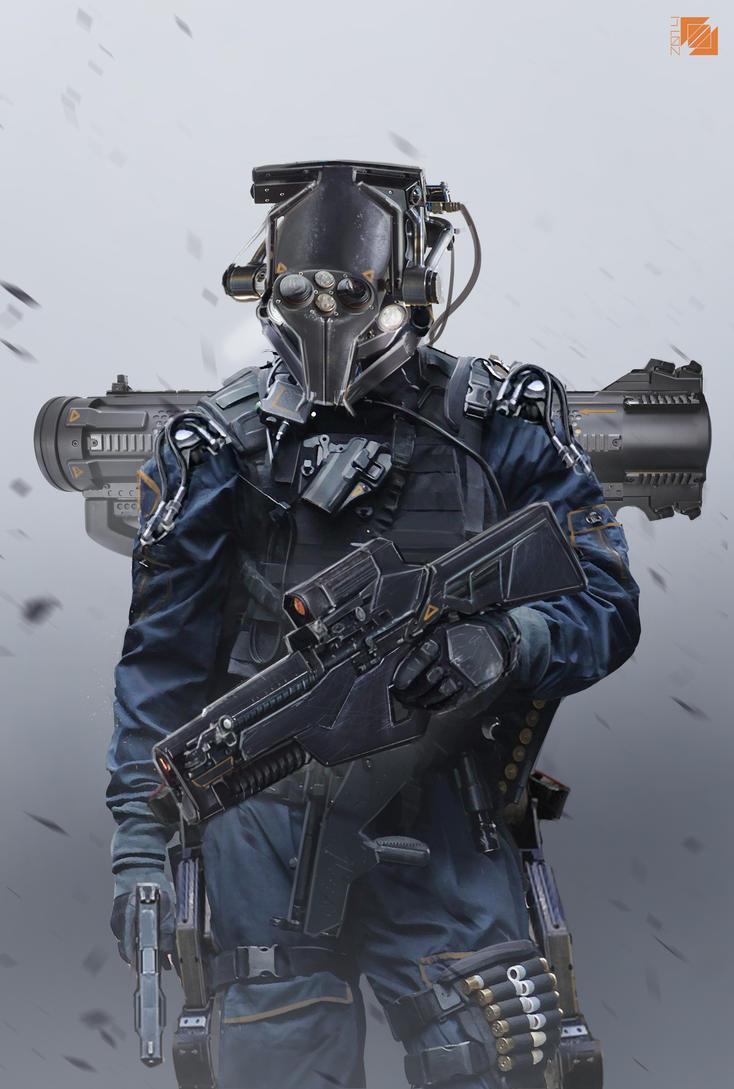 Soldier by FlorentLlamas