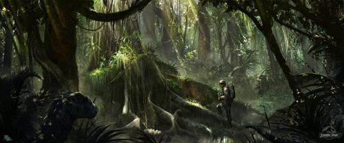 Jurassic by FlorentLlamas