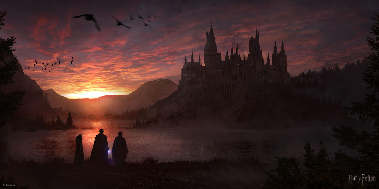 Hogwarts by llamllam