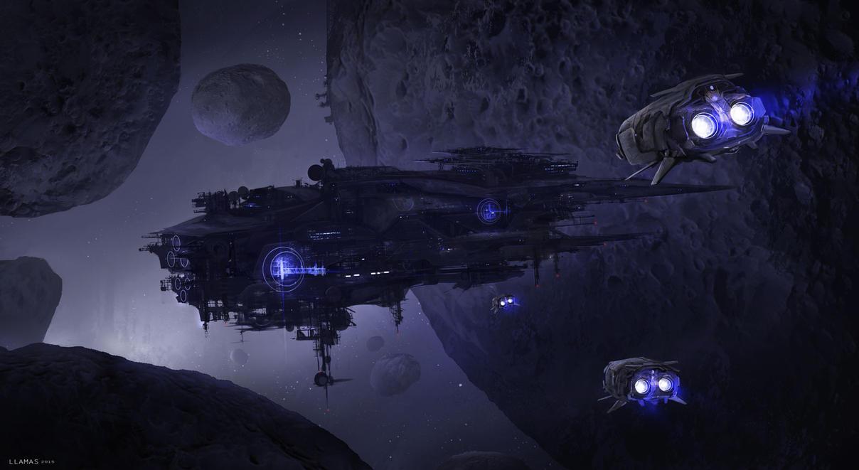 Spaceship by llamllam