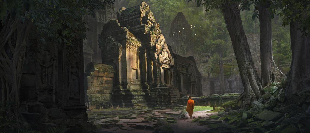 Temple by FlorentLlamas