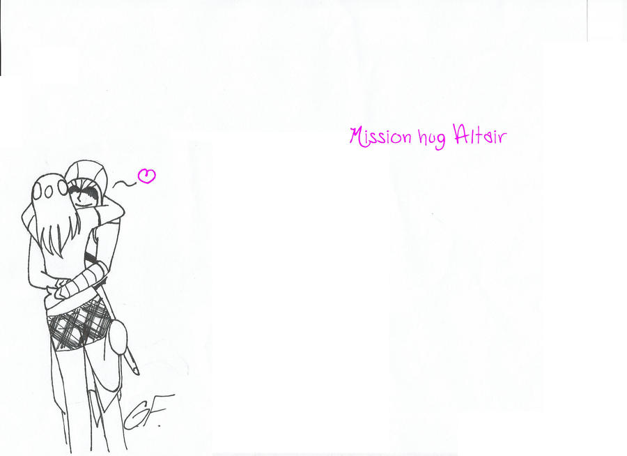mission hug Altair by dot599955