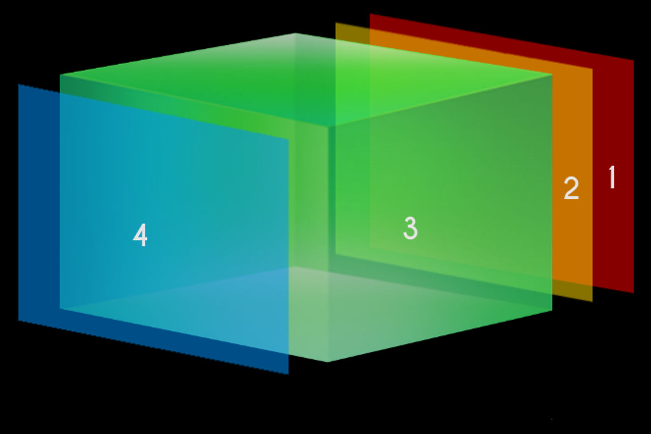 Artificial Realyty Space scheme