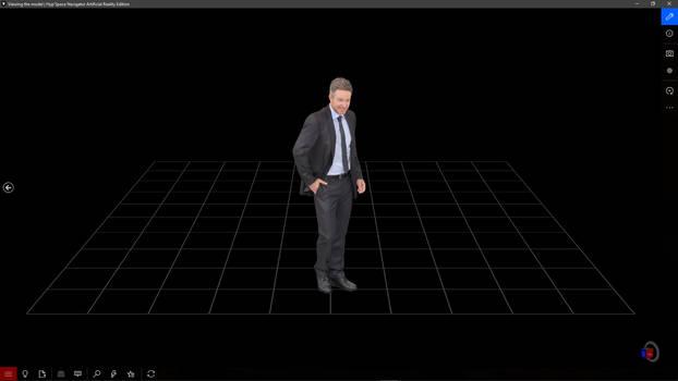Scanned People - 3D model