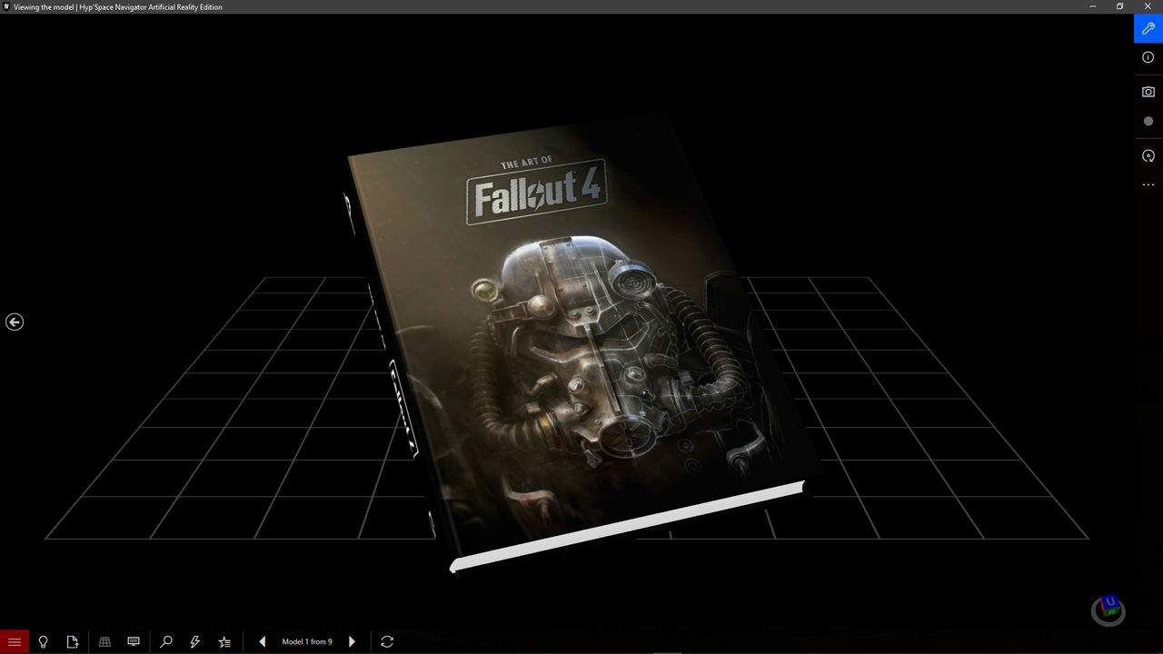The Art of Fallout 4 - 3D Model