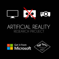 Artificial Reality Poster