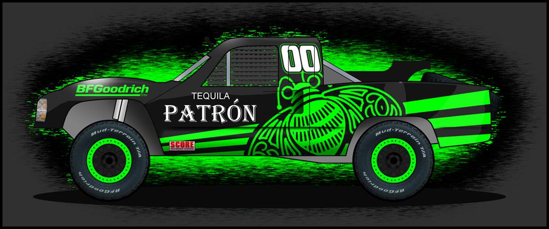 Tequila Patron Trophy Truck By Tucker65 On DeviantArt