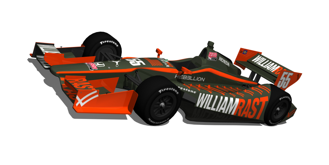 William Rast 2012 IndyCar by tucker65