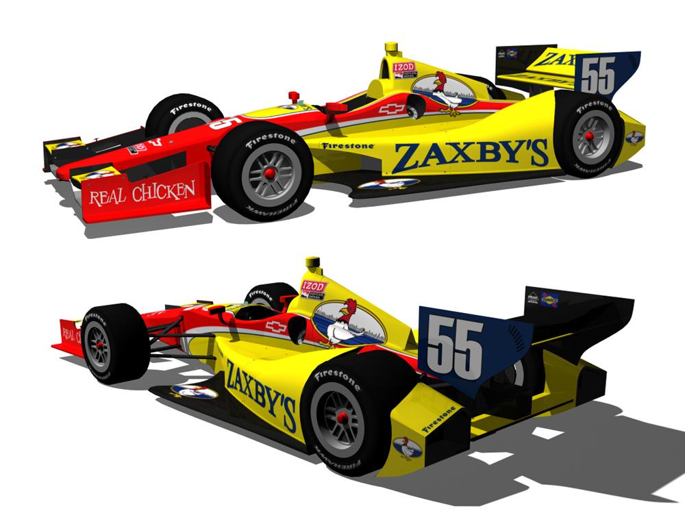 Zaxbys IndyCar by tucker65