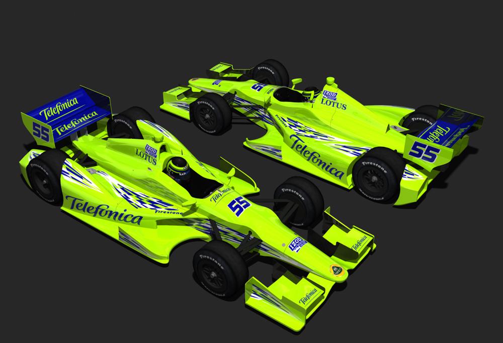 2012 Telefonica IndyCar by tucker65