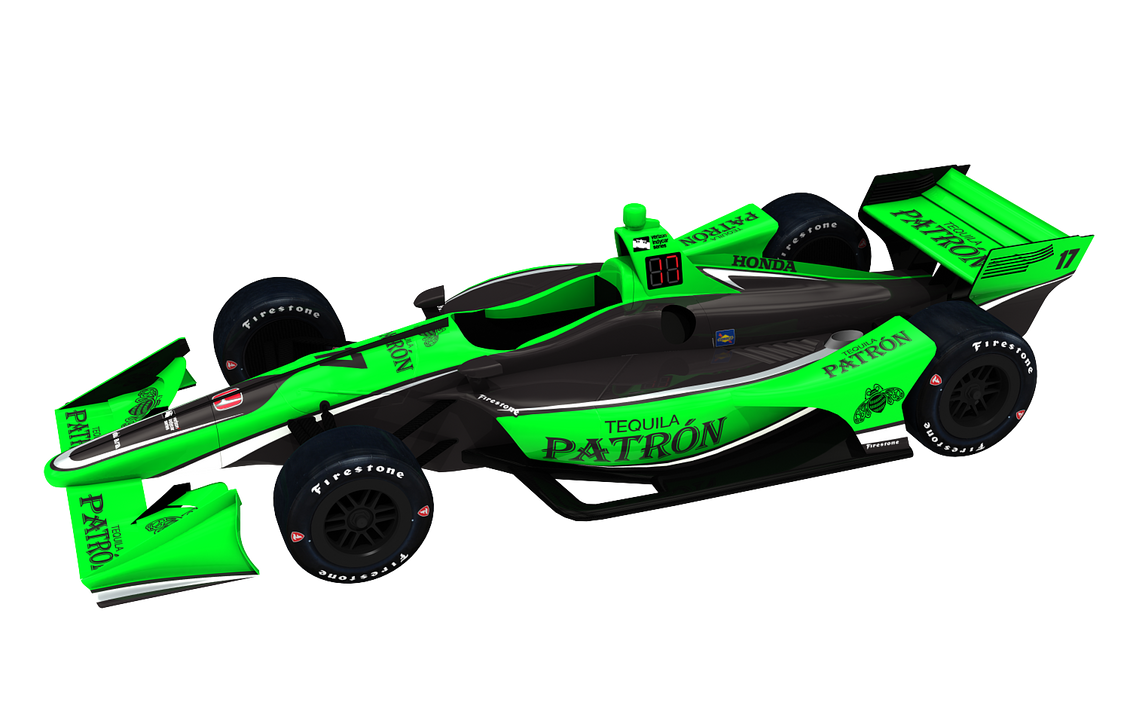 2018 Tequila Patron IndyCar By Tucker65 On DeviantArt