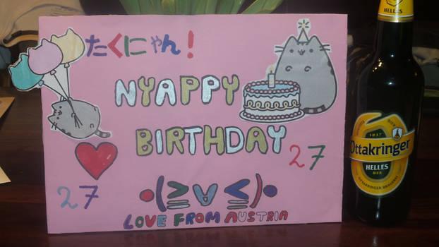 Takuyas Birthday Project