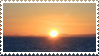 sunset stamp by Garassi