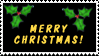Merry Christmas stamp by Garassi