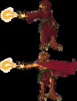Dragonborn Mage by KadeWolfe