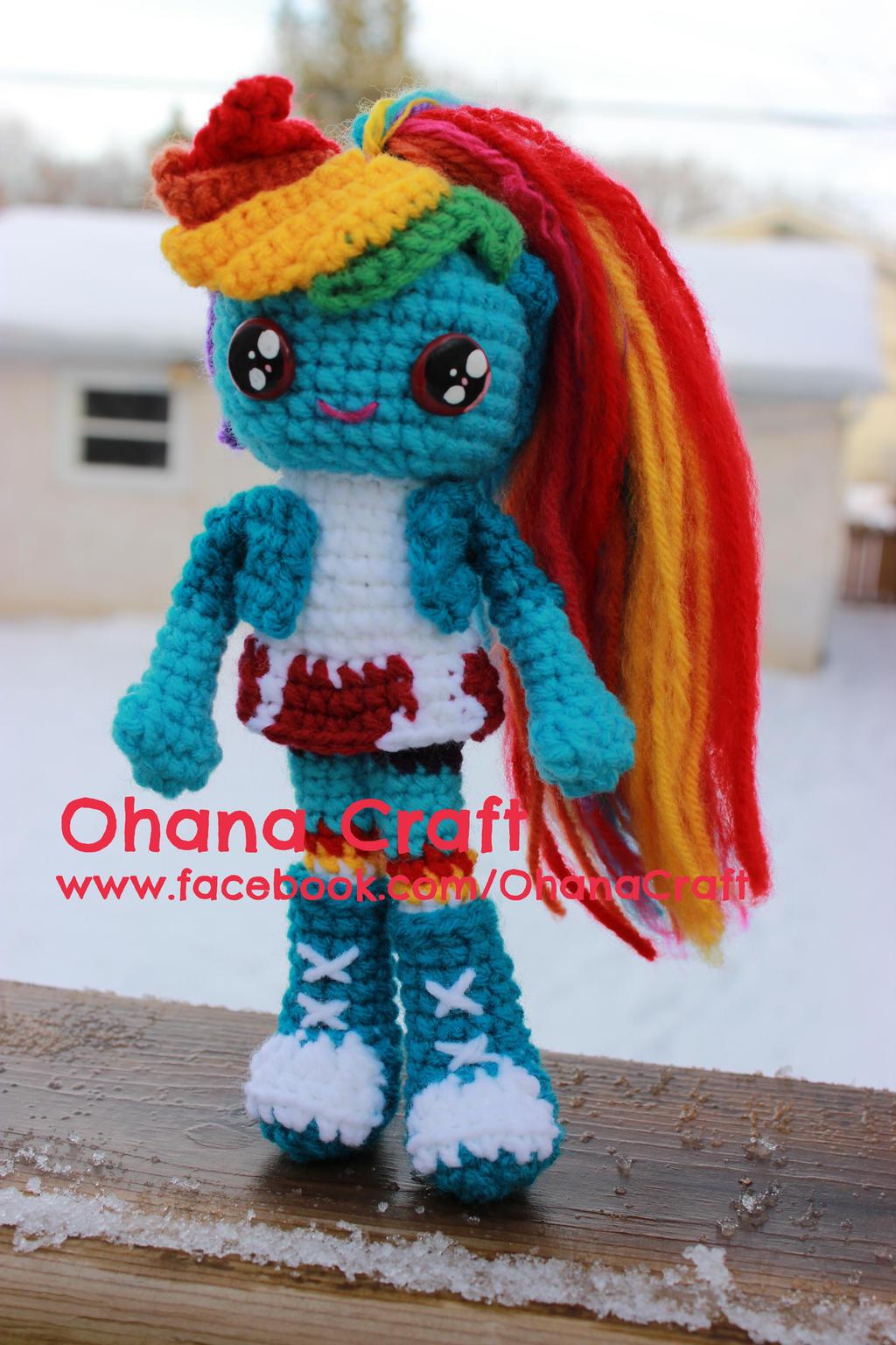Rainbow Dash My Little Pony Equestria Girl by OhanaCraft ...