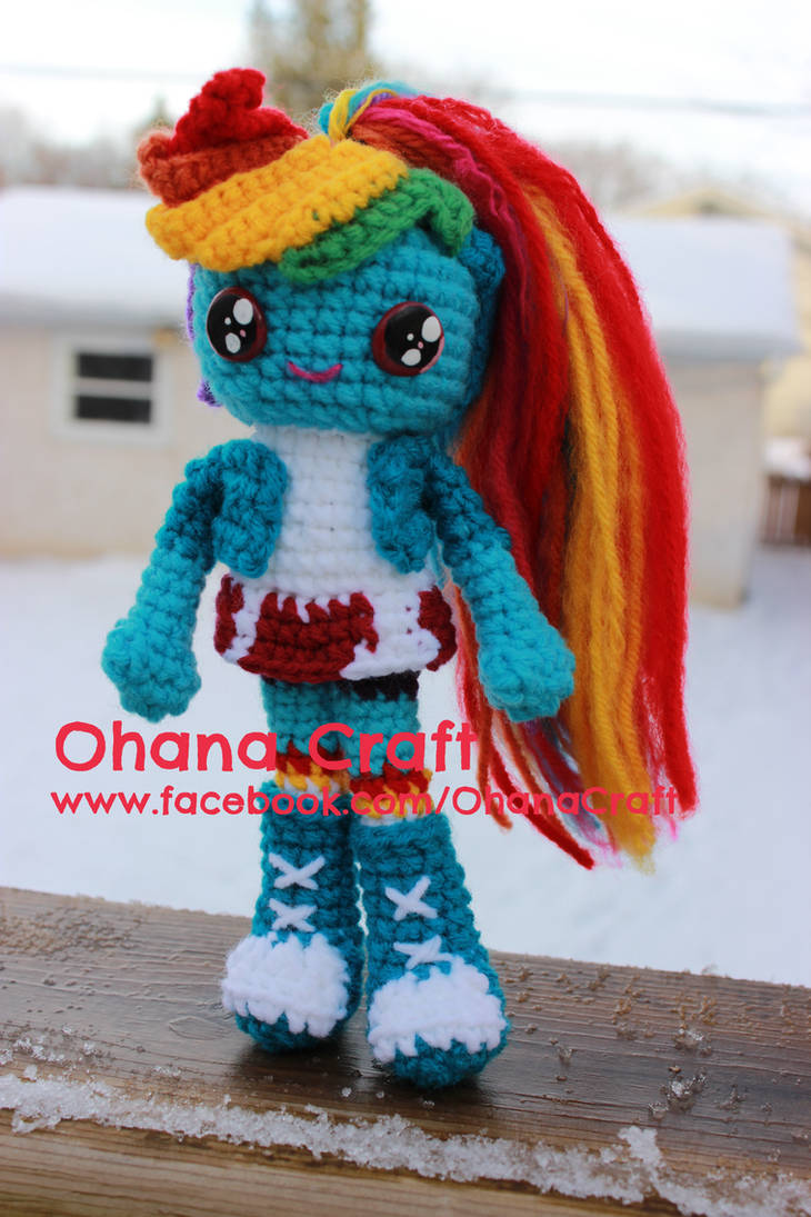28b72aced28a5 Rainbow Dash My Little Pony Equestria Girl by OhanaCraft on DeviantArt