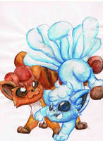 playful ice and fire by Linda-98