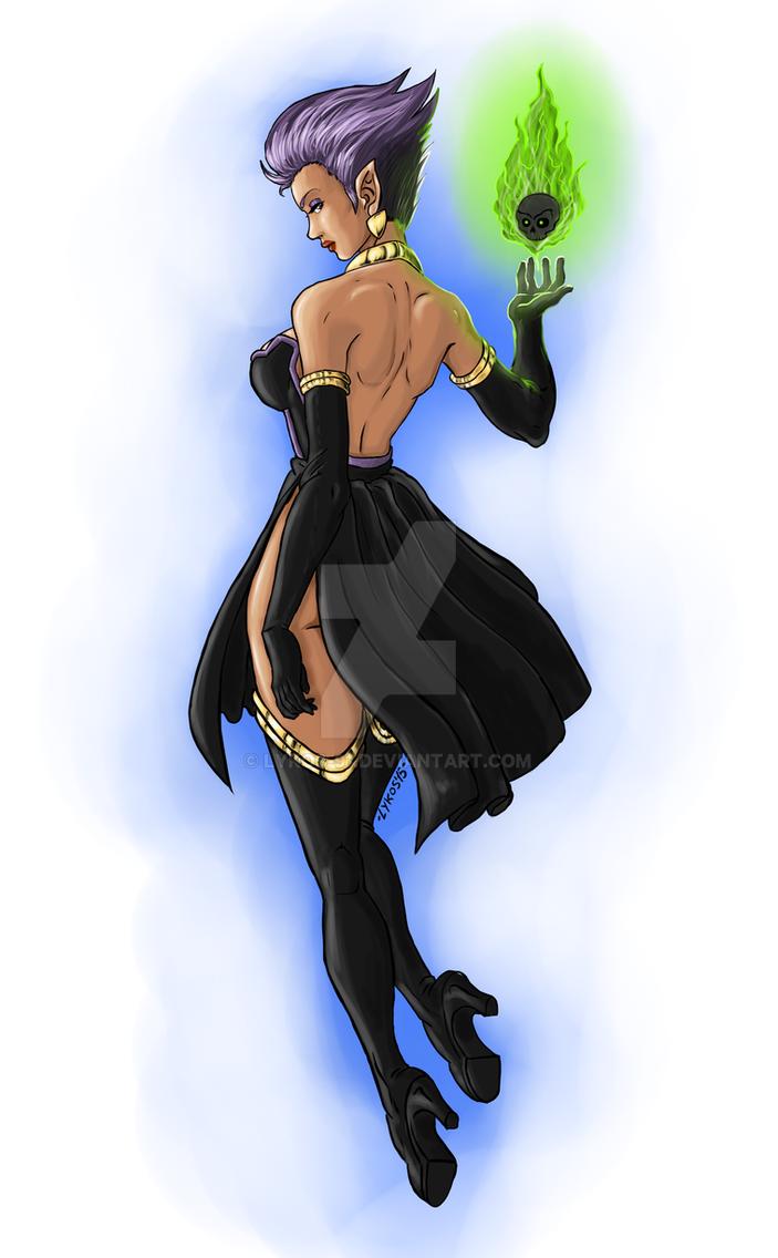 Loveless Witch Baba Yaga by Lykos-91