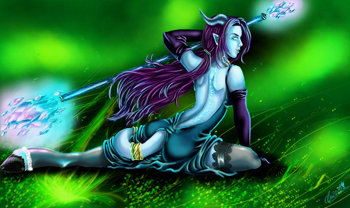 WoW hottest draenei naked pictures