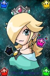 Princess Rosalina by xDarkMidnax