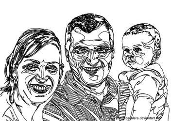 family photograph stroke by yudhiecavalera