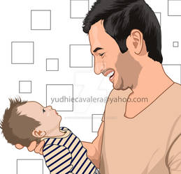 happiness of a father