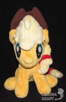 AppleJack - My Little Pony Plush Toy by AllunaCraft