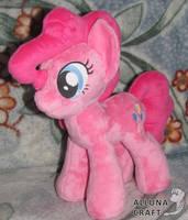 Pinkie Pie - My Little Pony Plush Toy for sale by AllunaCraft