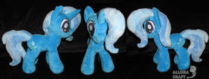 MLP Trixie plush custom for sale by AllunaCraft