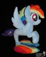 Rainbow Dash sea pony for sale by AllunaCraft