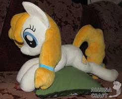Plushie Pear Butter - 65 cm long by AllunaCraft