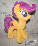 Adult Scootaloo plush