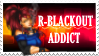 R-Blackout Addict Stamp by KJsPlace