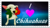 Comm: Love Chihuahuas Stamp by KJsPlace