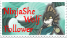 Comm: NinjaSheWolf Stamp by KJsPlace