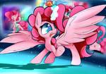 Princess Pink Party Horse