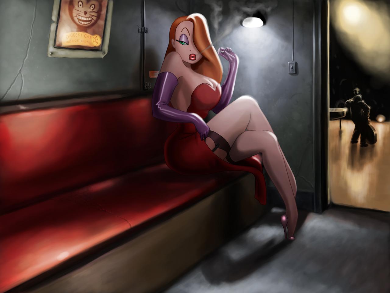 Jessica Rabbit Wallpaper By Tyramenendez On Deviantart