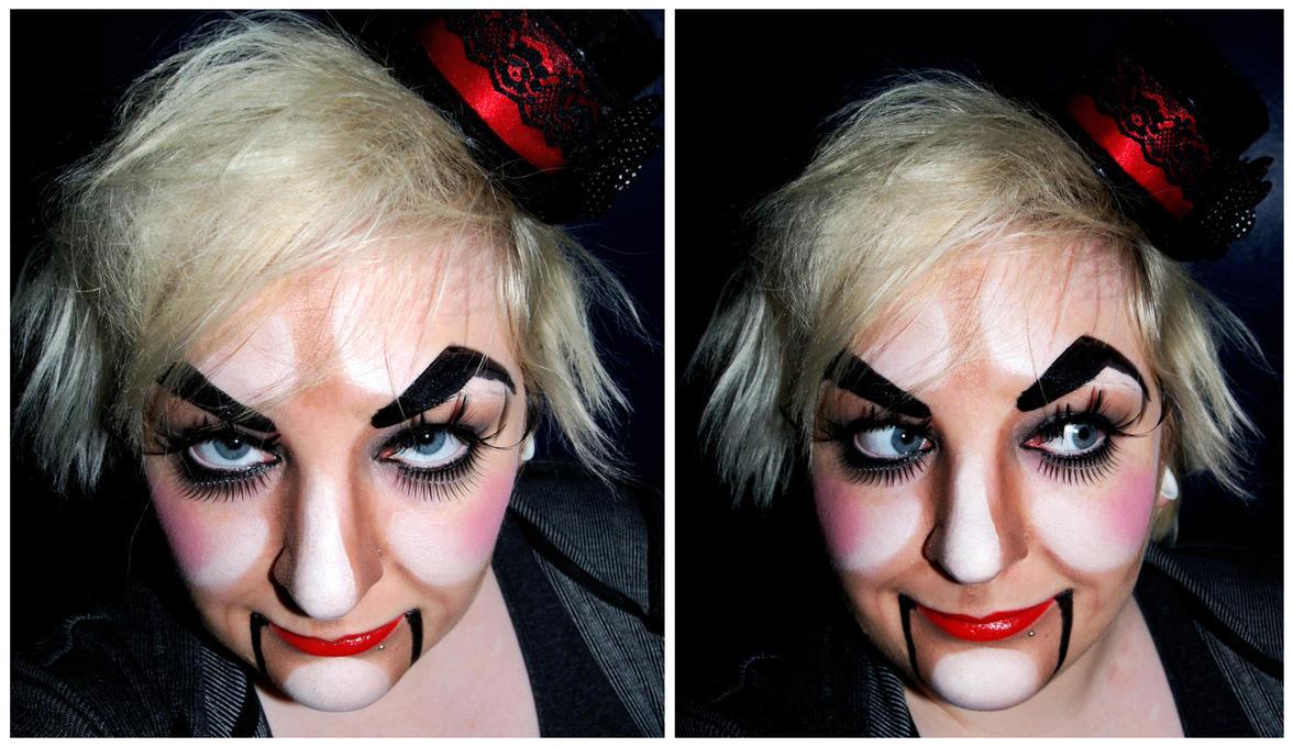 Ventriloquist dummy by prettyboyswearpinkVentriloquist Dummies Makeup