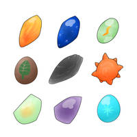 Evolutionary Stones by LexisSketches
