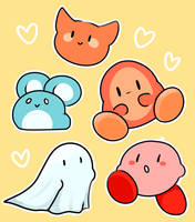 Kirby by LexisSketches