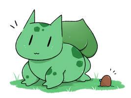 Bulbasaur by LexisSketches