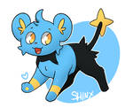 Shinx by LexisSketches