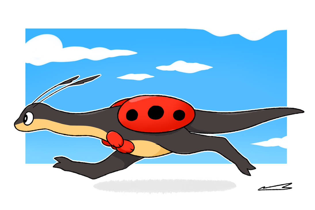 Raptor Bug by LexisSketches