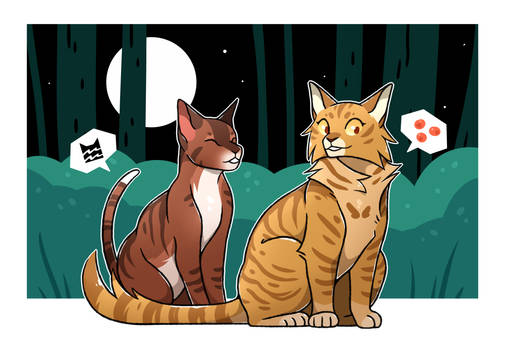 Leafpool and Mothwing