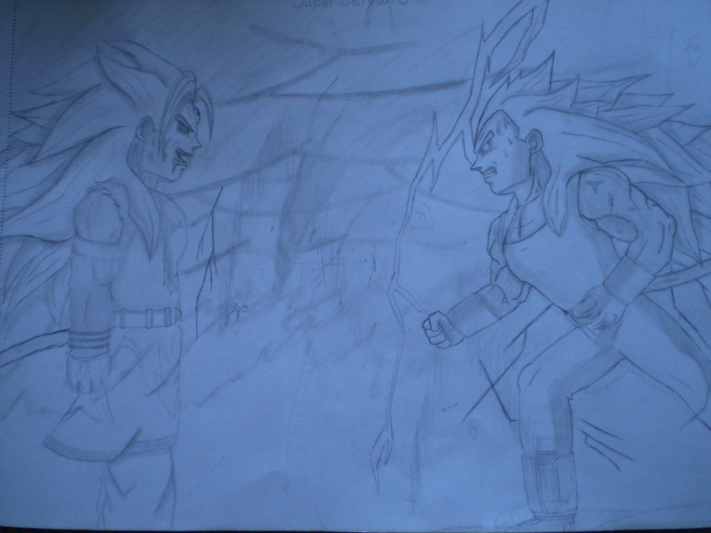 Goku vs vegeta super saiyan 5 by mariotime92 on deviantart - Goku vs vegeta super saiyan 5 ...