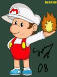 Fire Baby Mario