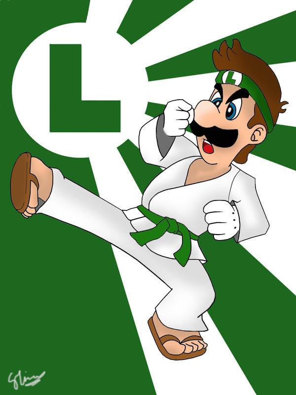Luigi-san by mariotime92