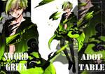 [CLOSED}ADOPTABLE Sword Green